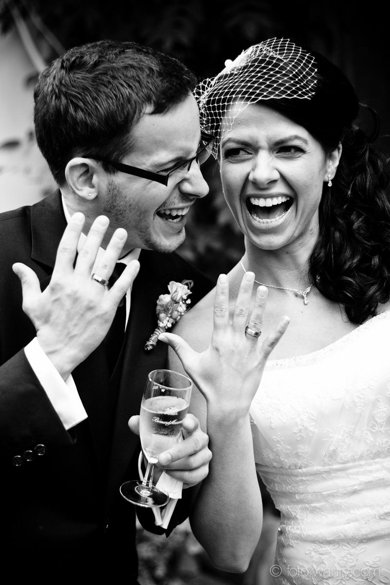 Brautpaar - Ringfreude