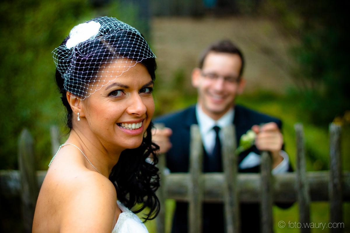 Braut - Fascinator
