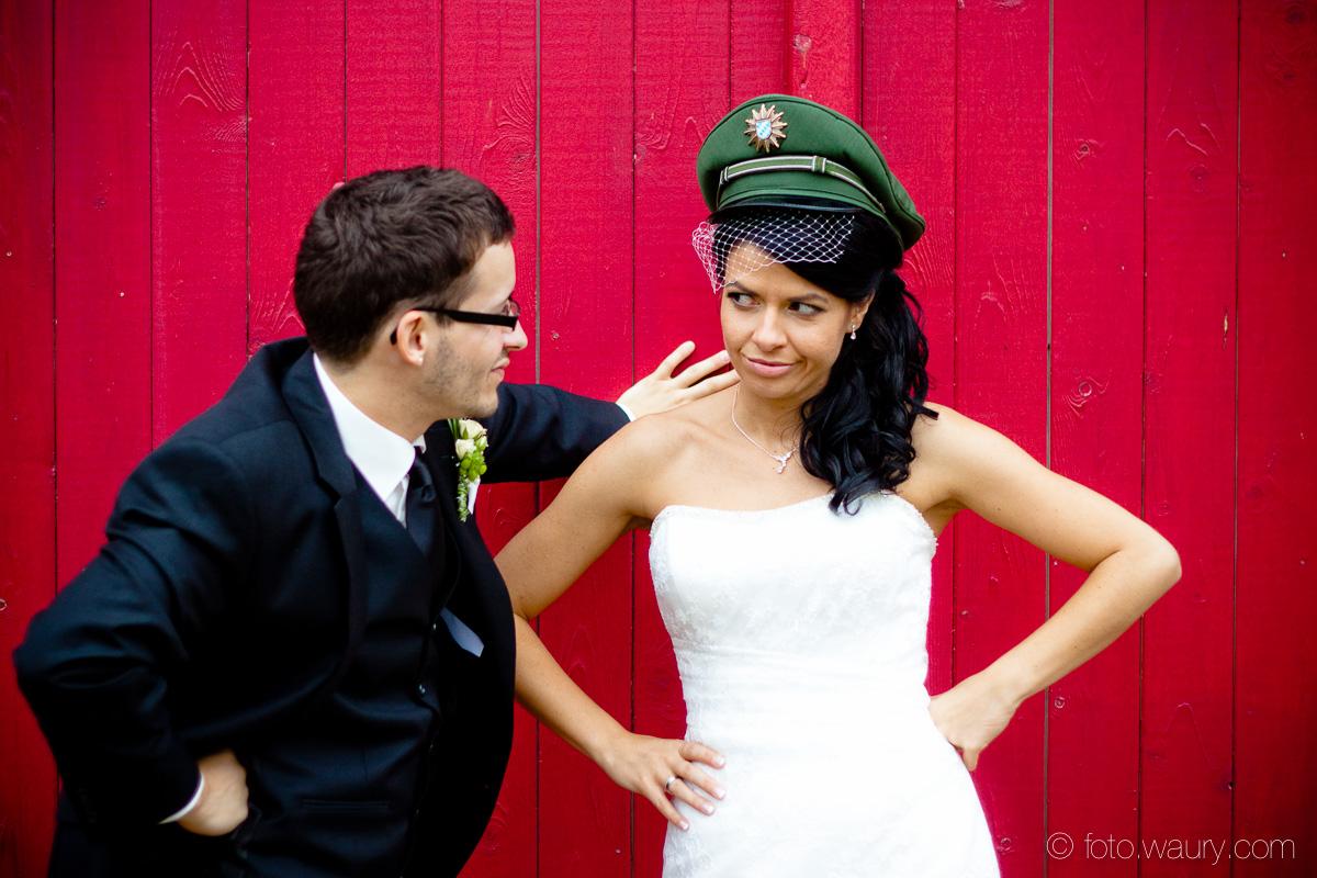 Brautpaar - Polizei