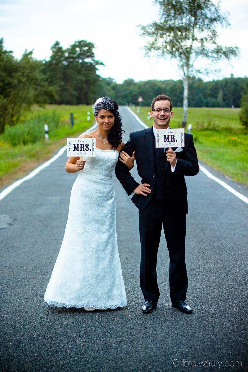 Brautpaar - Mr and Mrs