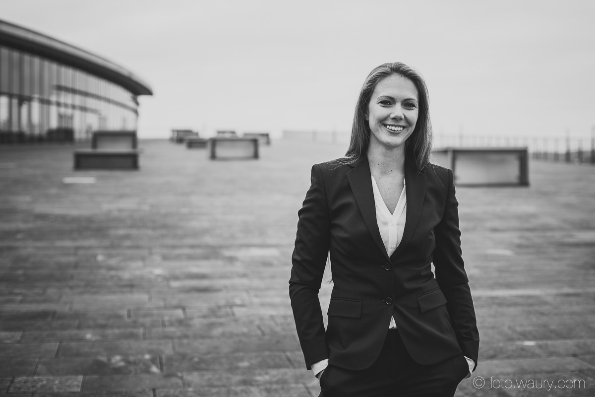 Businessfoto einer Frau