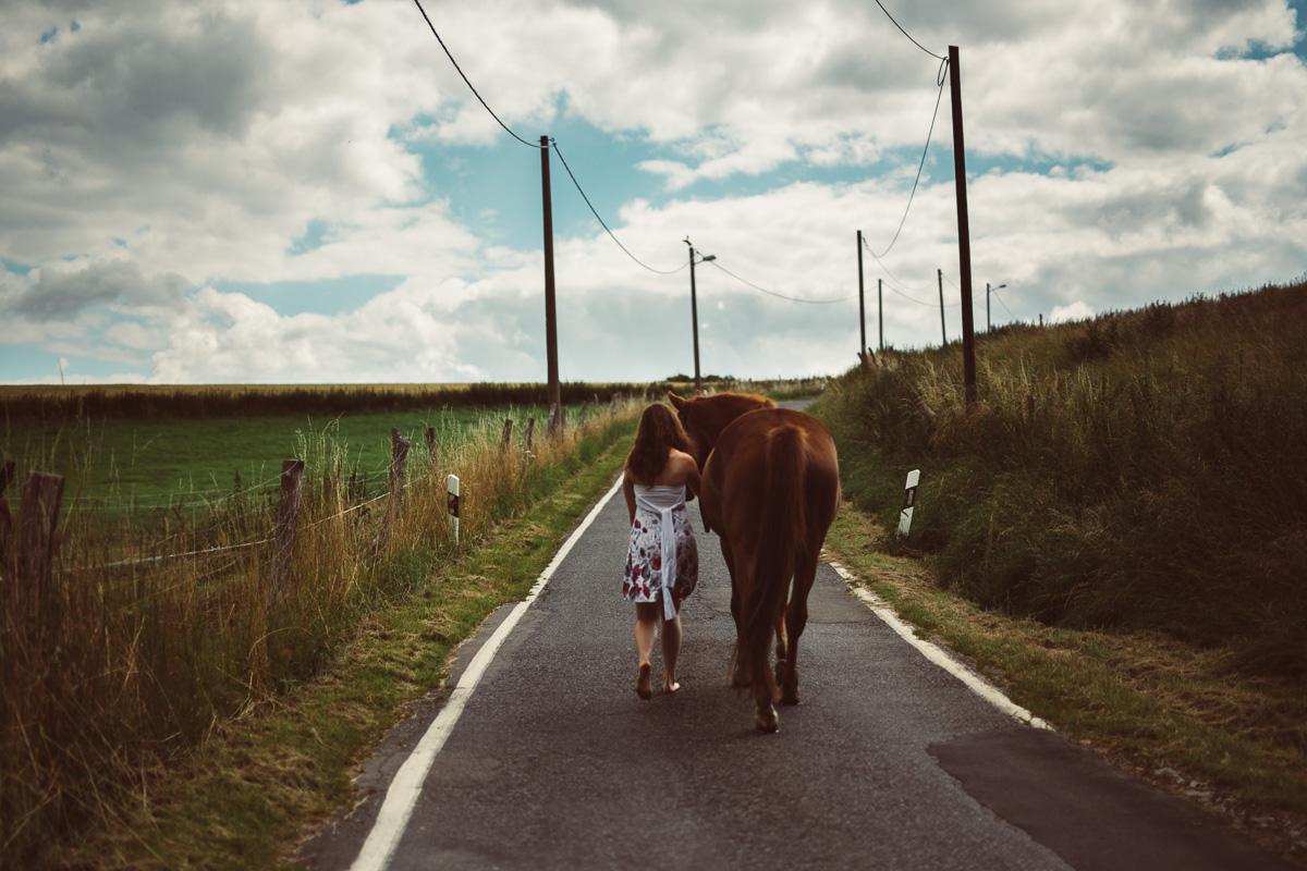 Fotoshooting - Elisabeth und Pferd-12