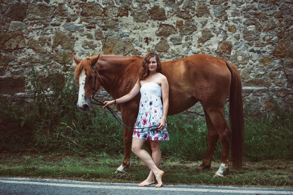 Fotoshooting - Elisabeth und Pferd-26