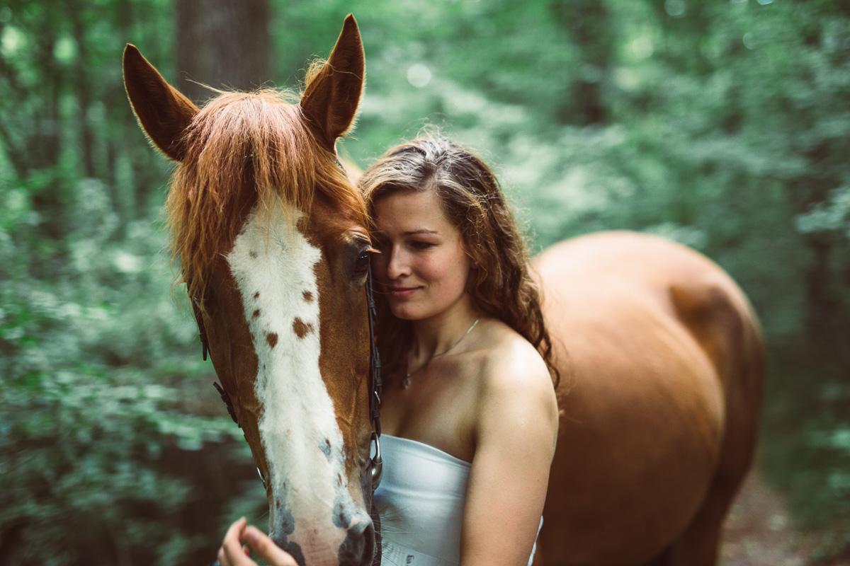 Fotoshooting - Elisabeth und Pferd-29