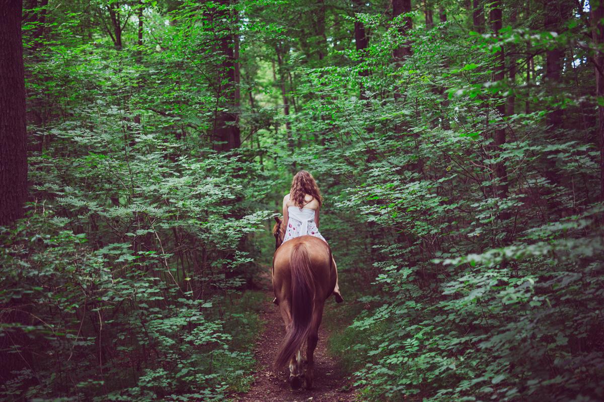 Fotoshooting - Elisabeth und Pferd-32