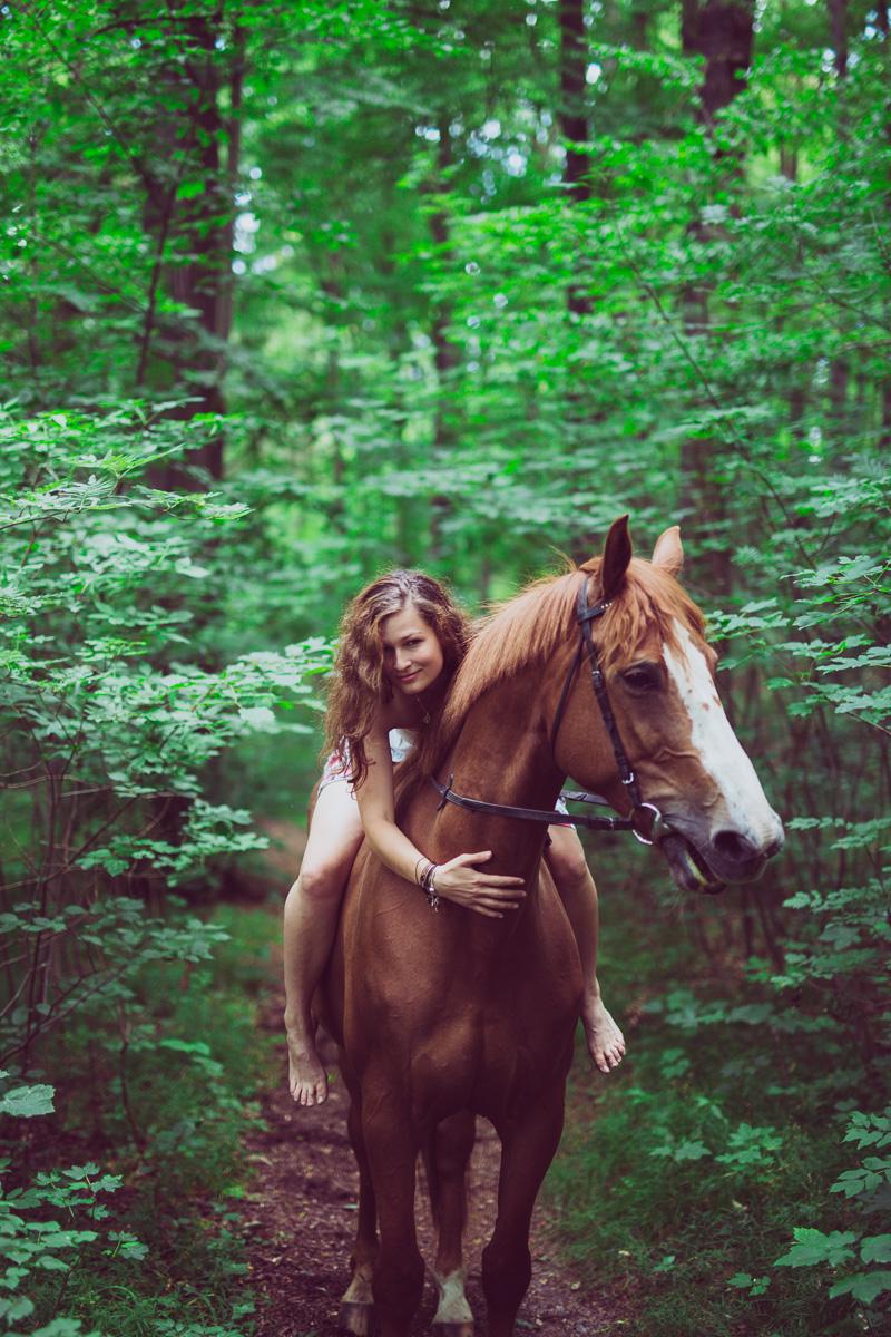 Fotoshooting - Elisabeth und Pferd-37