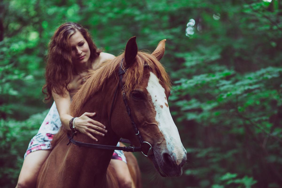 Fotoshooting - Elisabeth und Pferd-42