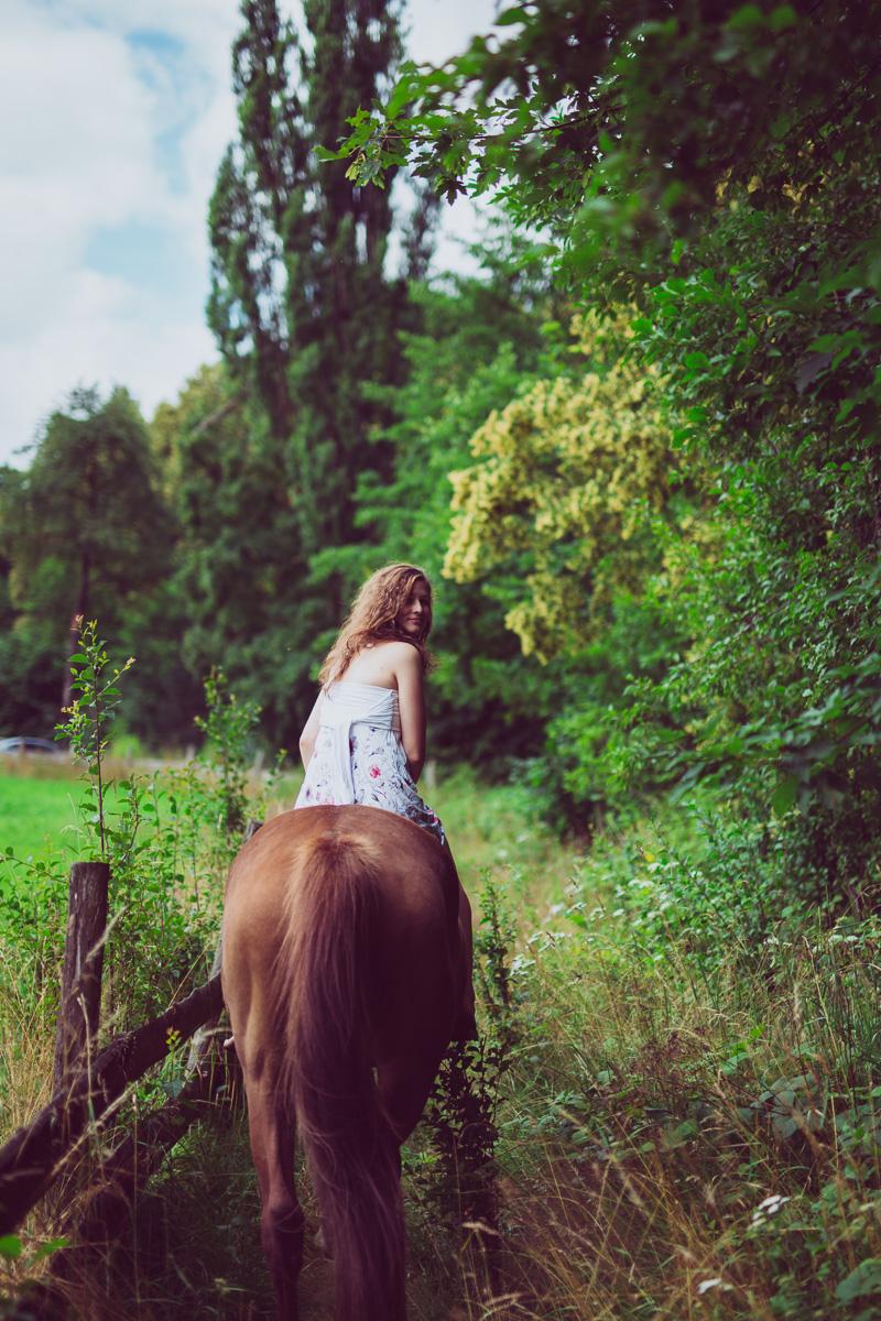 Fotoshooting - Elisabeth und Pferd-43