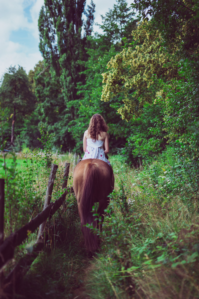 Fotoshooting - Elisabeth und Pferd-44