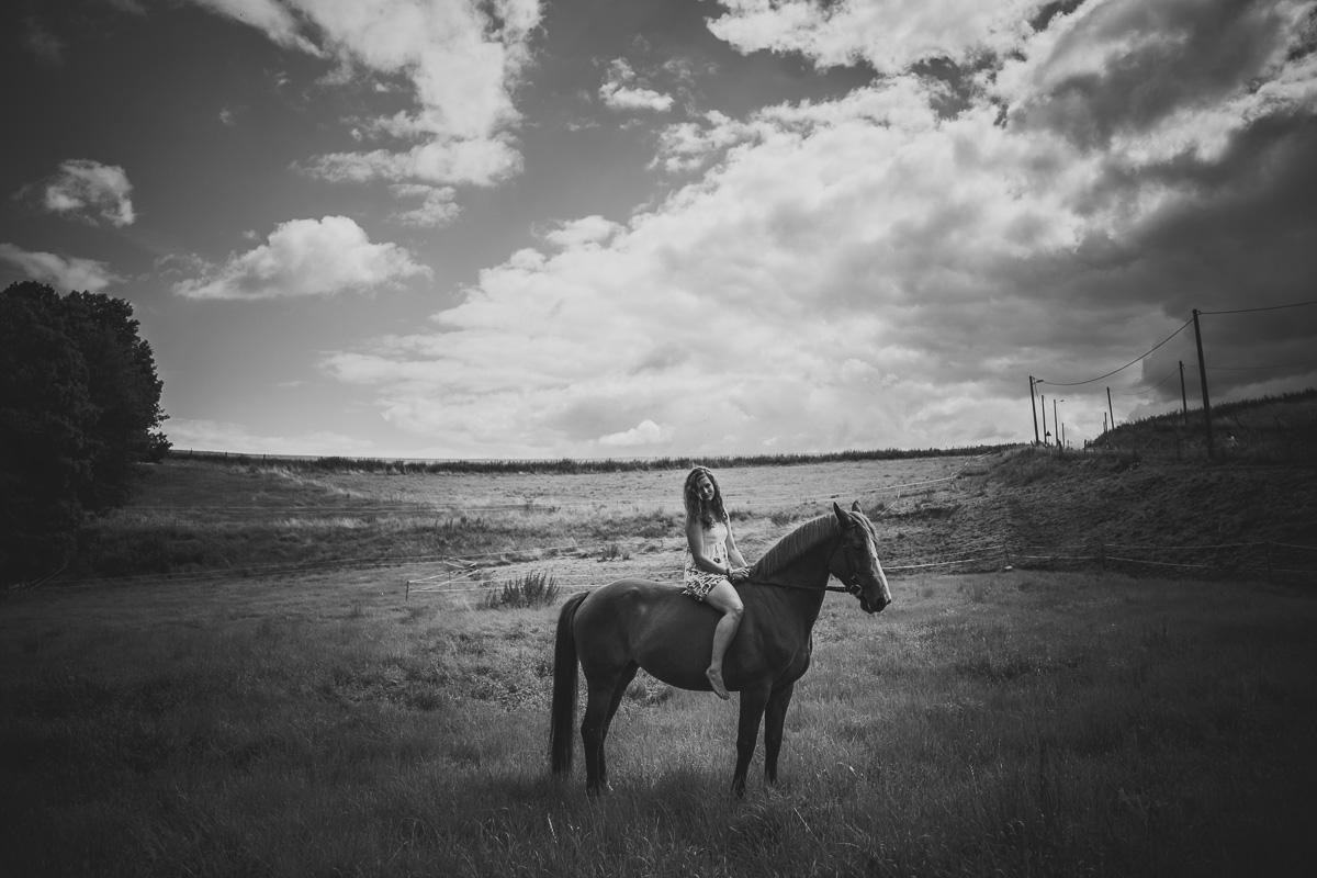 Fotoshooting - Elisabeth und Pferd-46