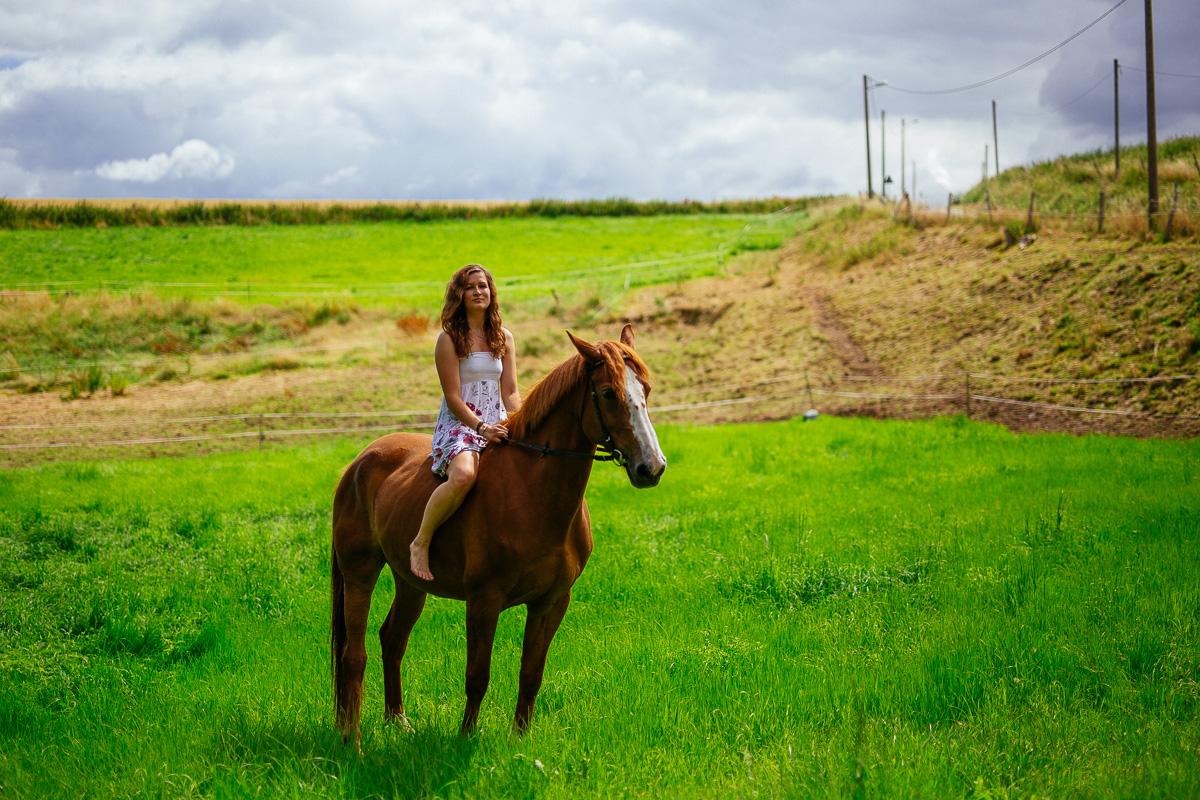 Fotoshooting - Elisabeth und Pferd-48