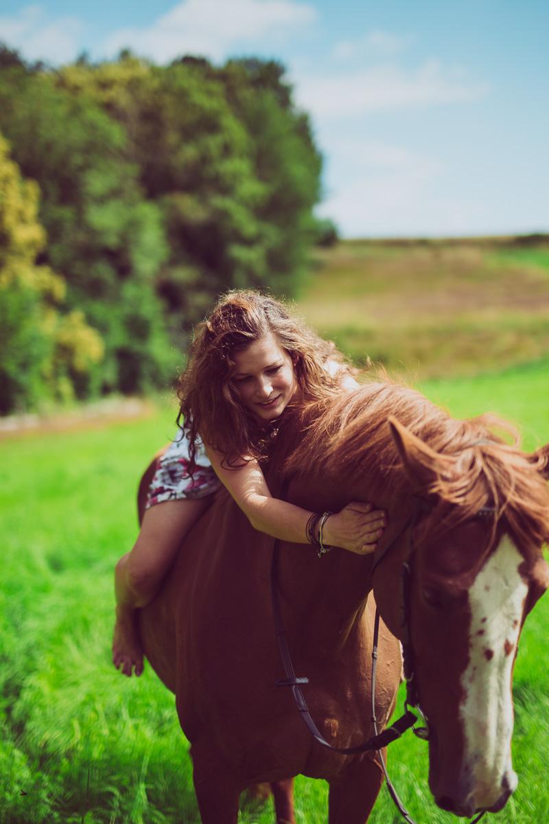 Fotoshooting - Elisabeth und Pferd-58