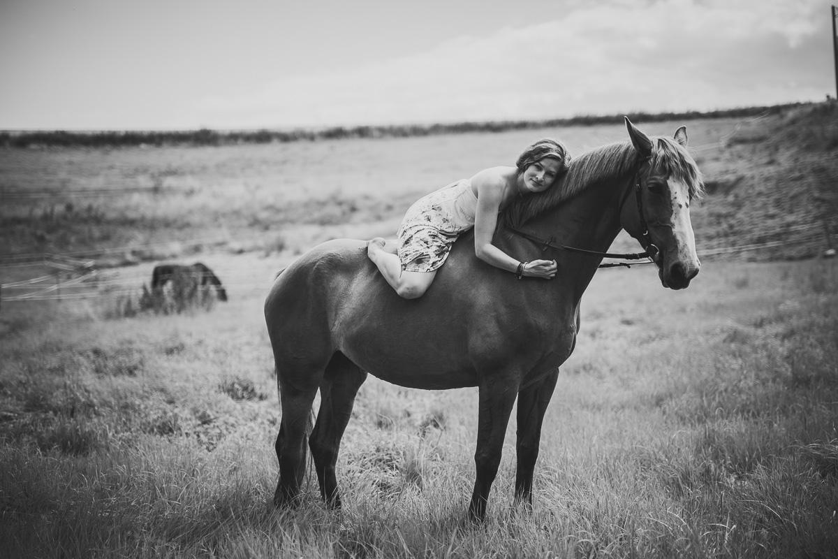 Fotoshooting - Elisabeth und Pferd-59
