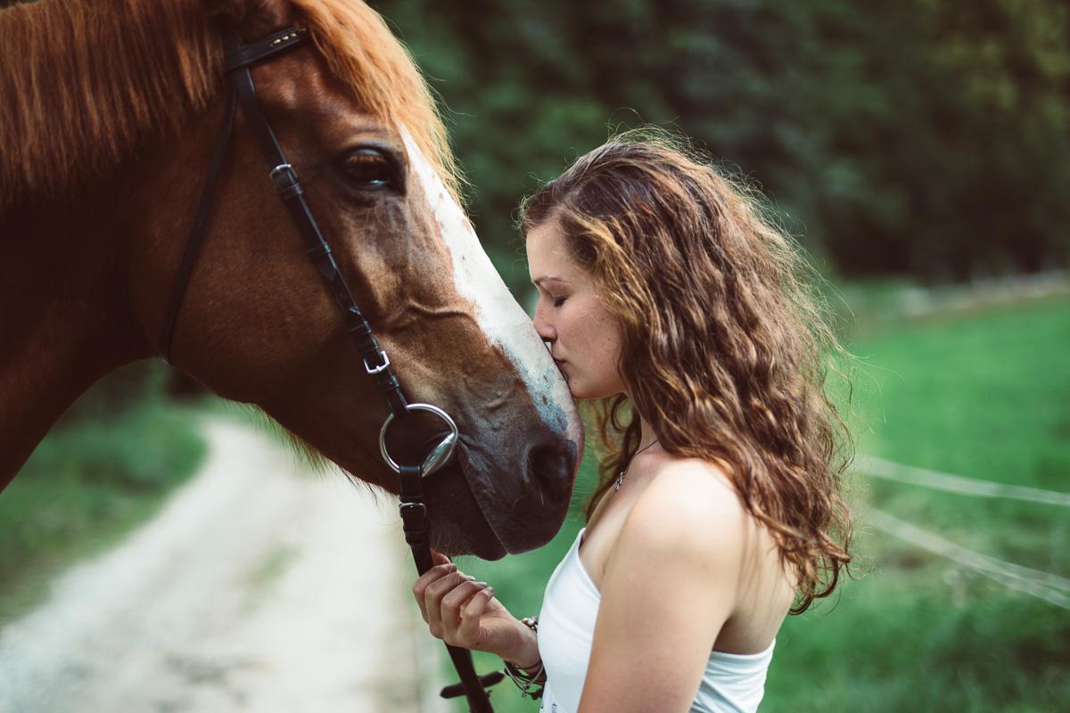 Fotoshooting - Elisabeth und Pferd-6