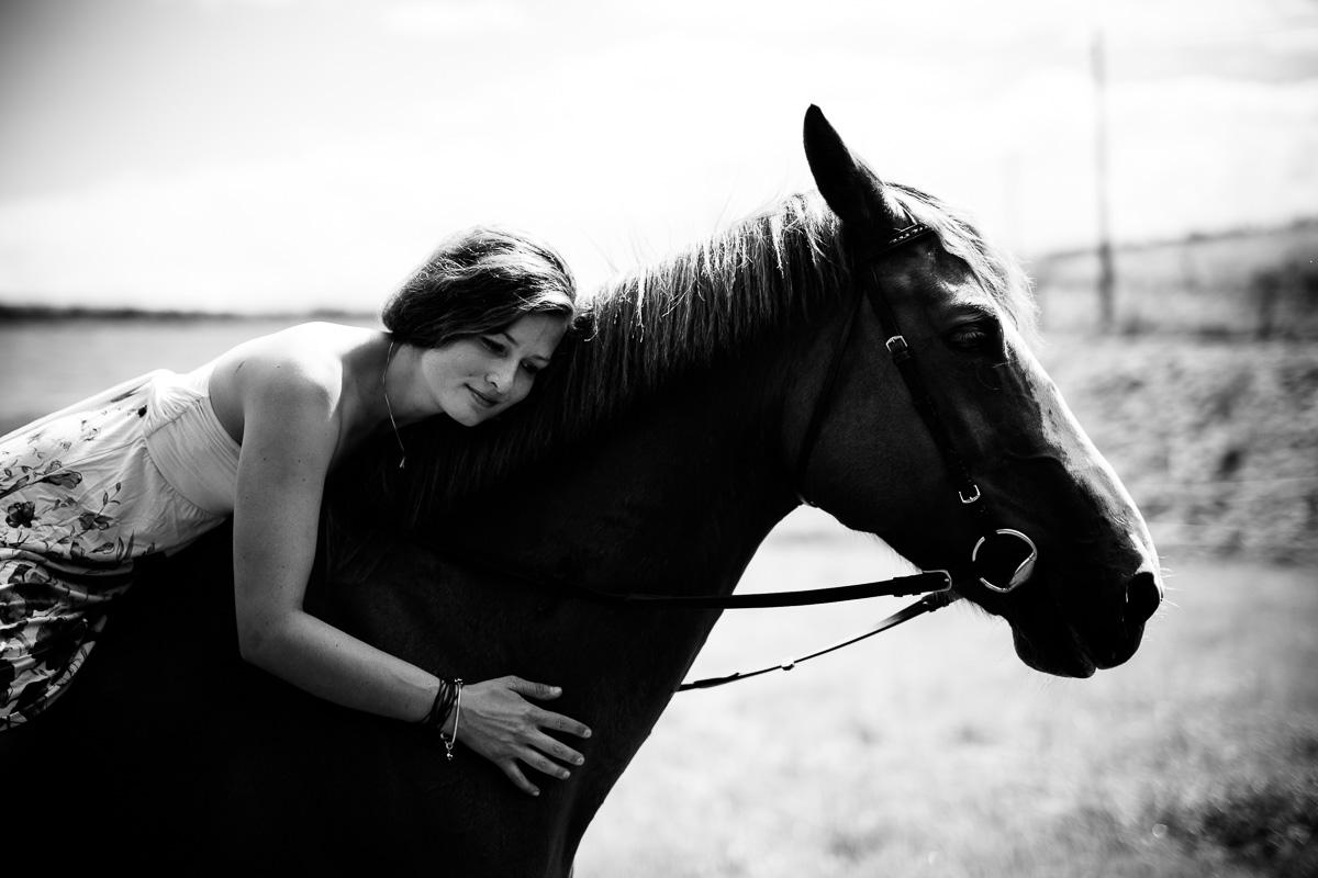 Fotoshooting - Elisabeth und Pferd-61