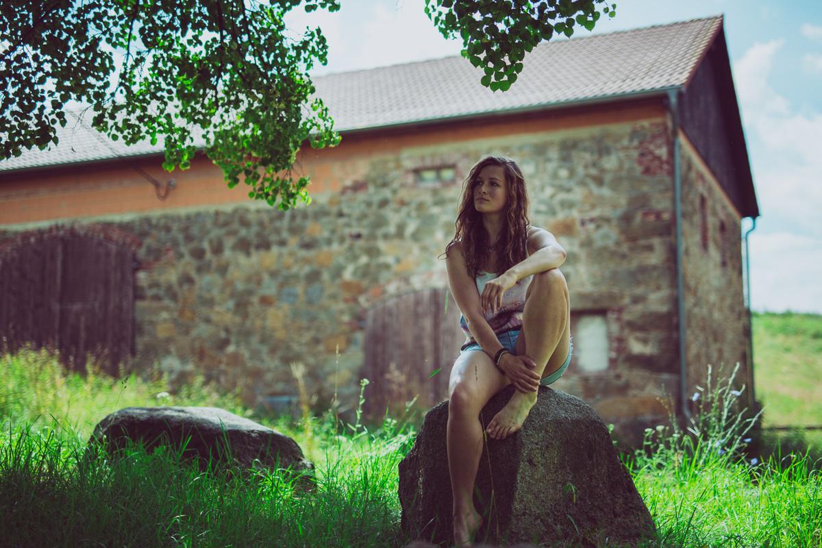 Fotoshooting - Elisabeth und Pferd-78