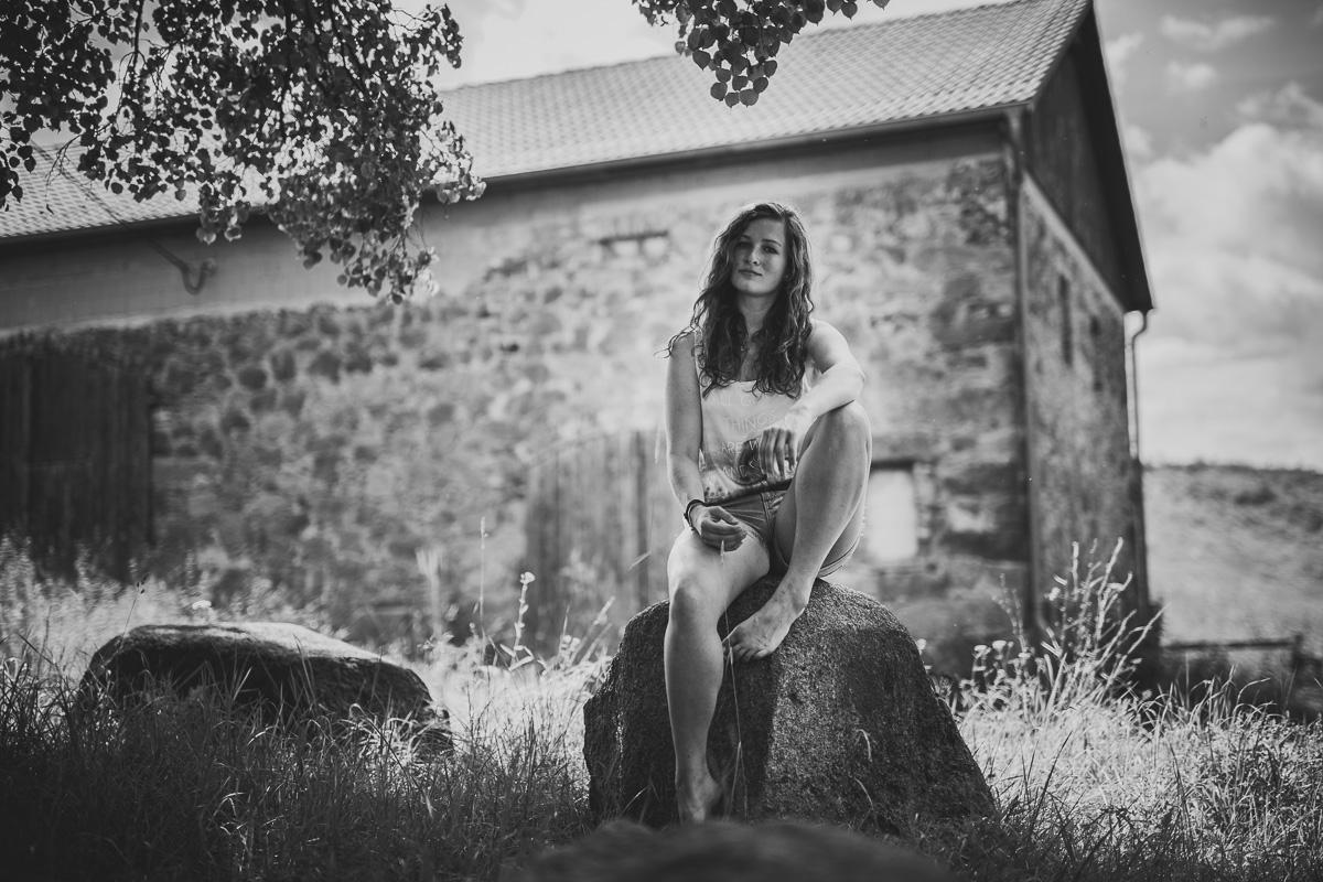 Fotoshooting - Elisabeth und Pferd-79