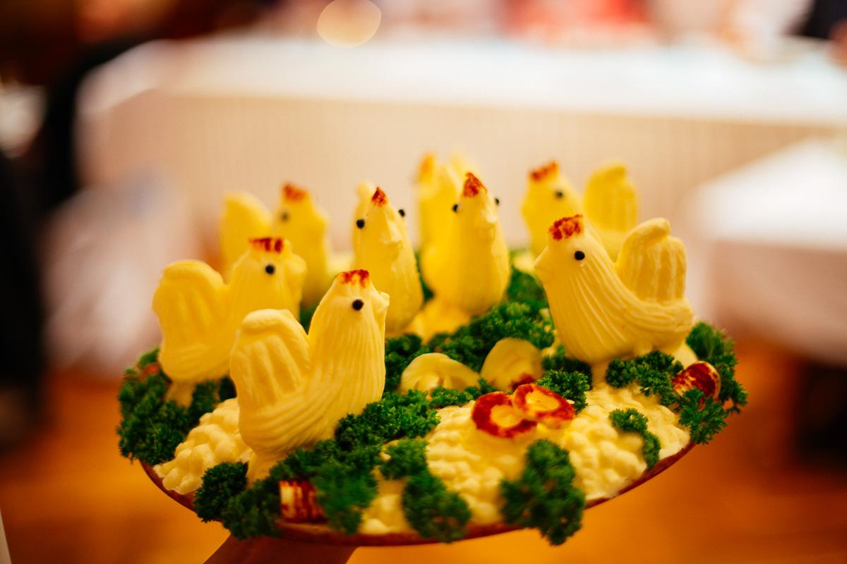 Küken aus Butter