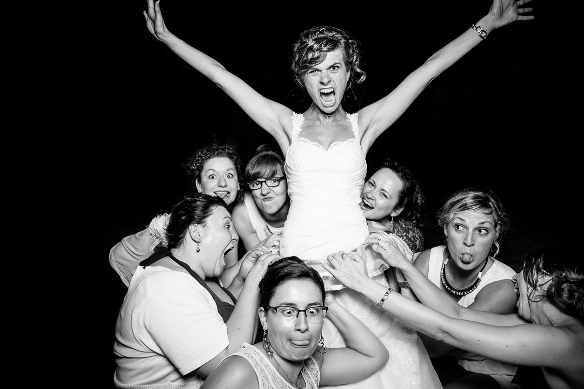 Braut wird umjubelt