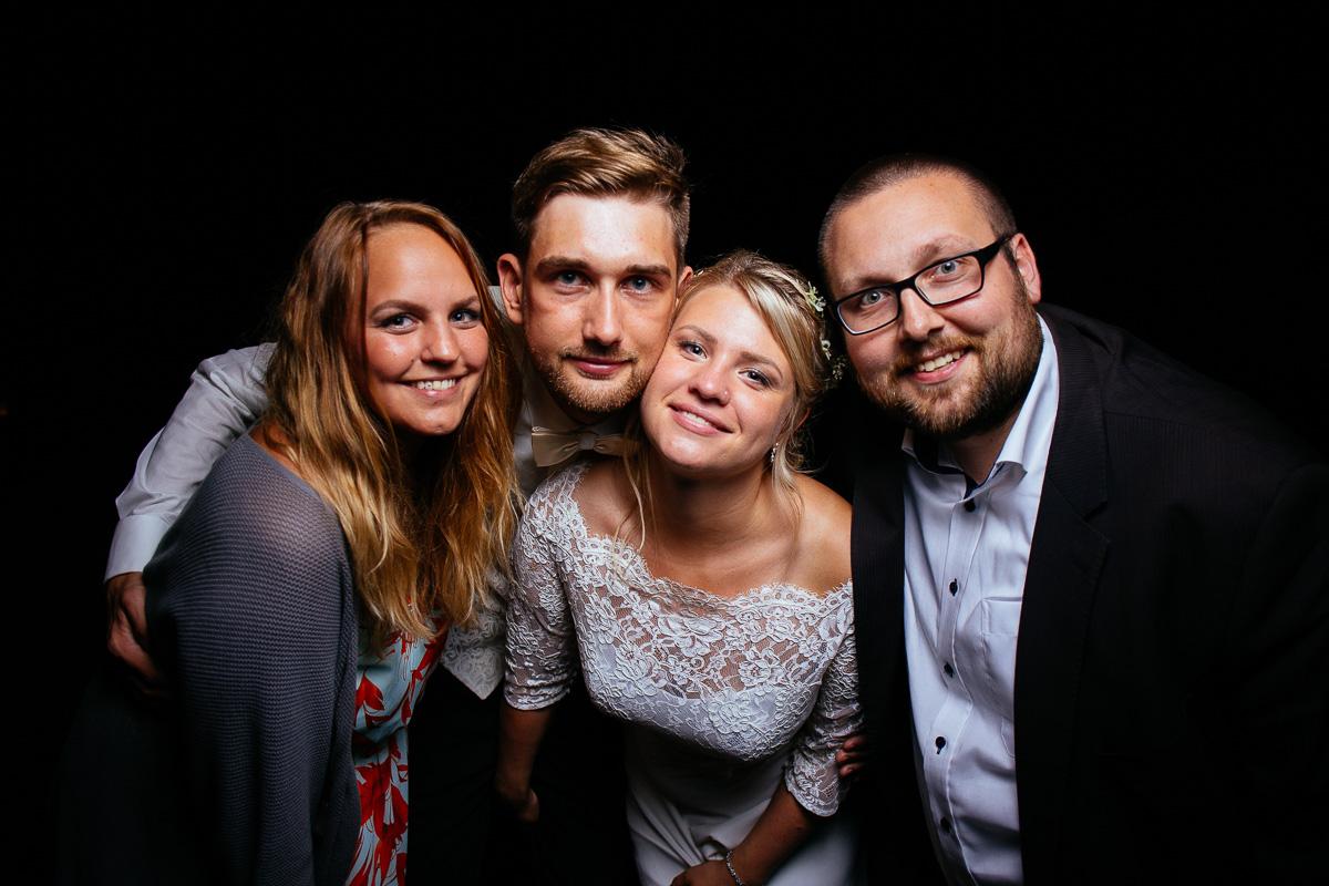 Brautpaar und Fotografen