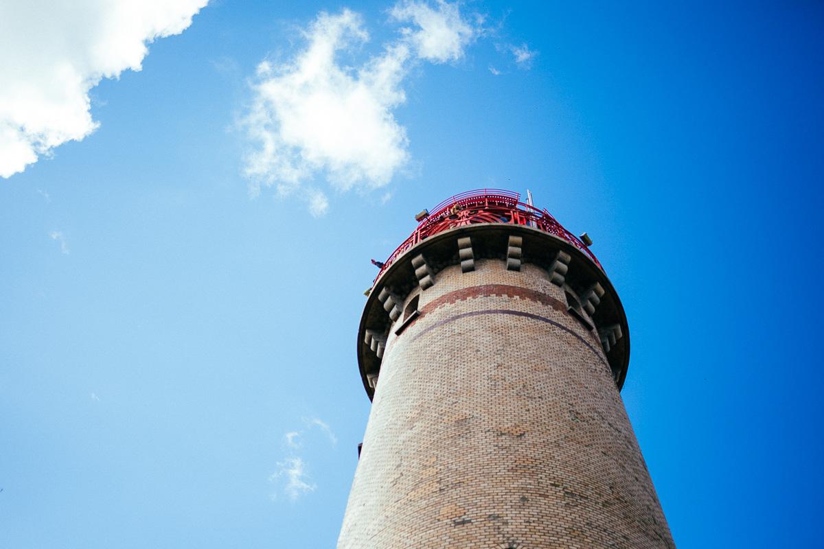Leuchtturm am Cap Arcona auf Rügen