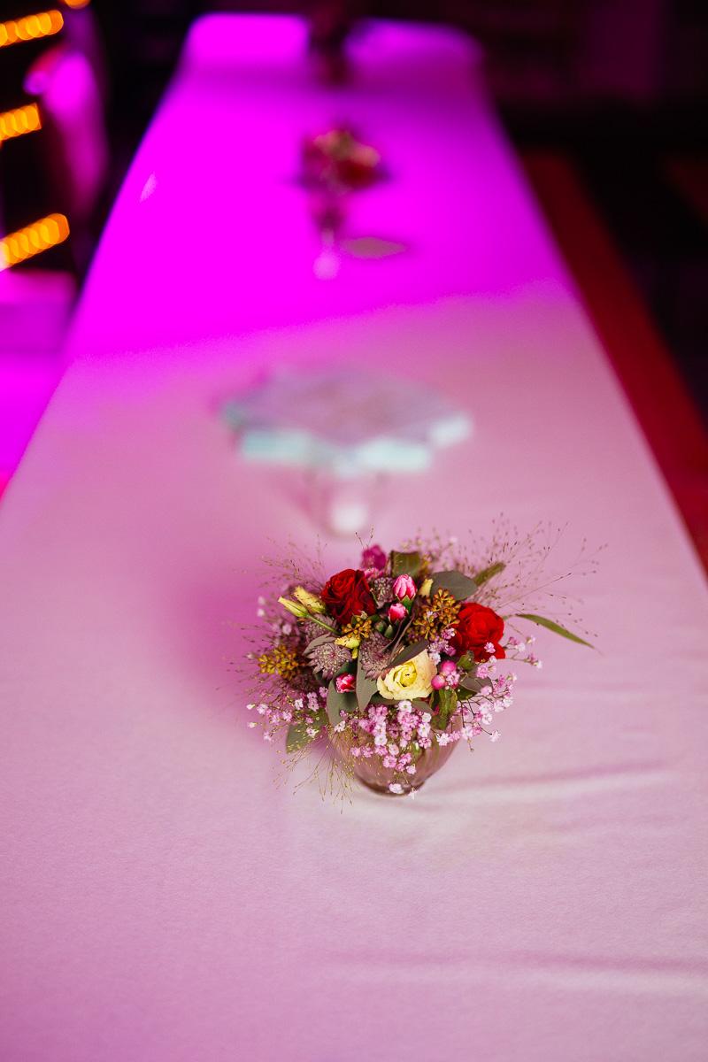 Hochzeitslocation Deko